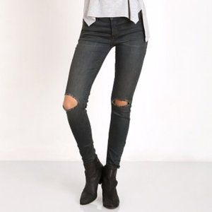 Free People Patsy Destroyed Skinny Jeans 24